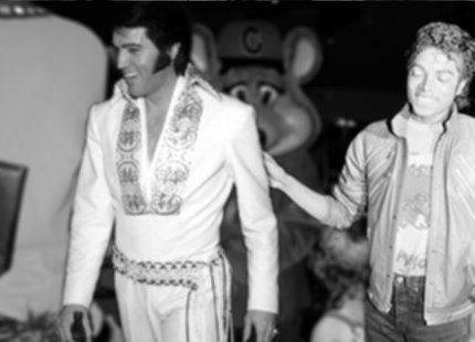 MJ and Elvis..hhhhh