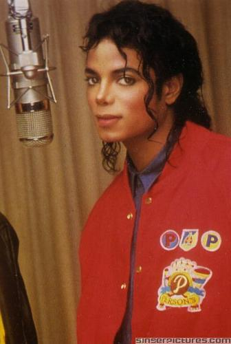 MJ in the Recording Studio