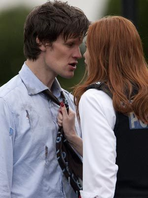 Matt Smith & Karen Gillan wallpaper entitled Matt & Karen