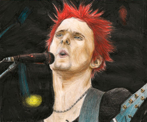 Matthew Bellamy Drawing