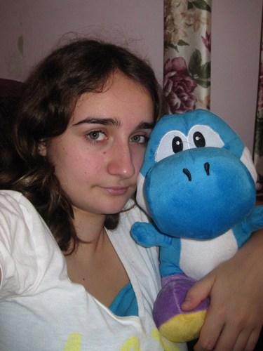 Me and my Yoshi. <3