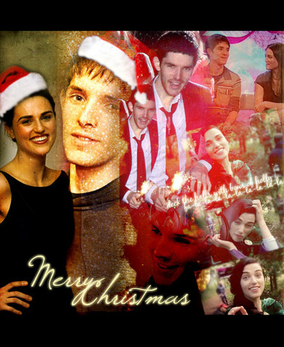 Merry क्रिस्मस from katie and colin:D