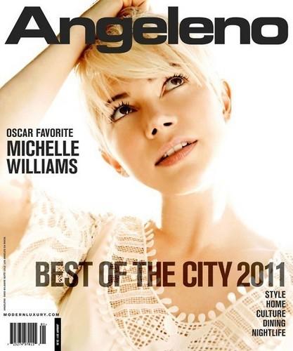 "Michelle Williams - ""Angeleno Magazine"" (January 2011)"