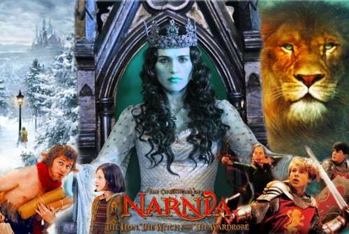 Morgana (from BBC's Merlin) as the White Witch