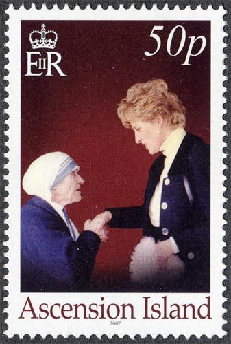 Mother Teresa of Calcutta and Diana, Princess of Wales