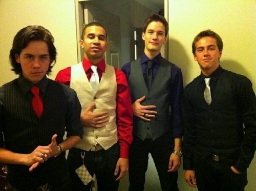 Munro Chambers wallpaper with a business suit and a suit titled Munro,Demetrius,Justin,and Thomas
