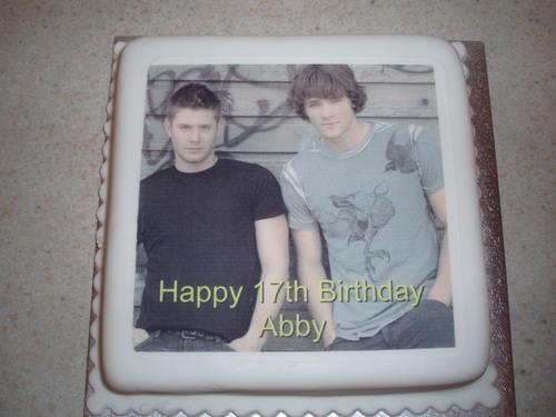 My 17th birthday cakee <3