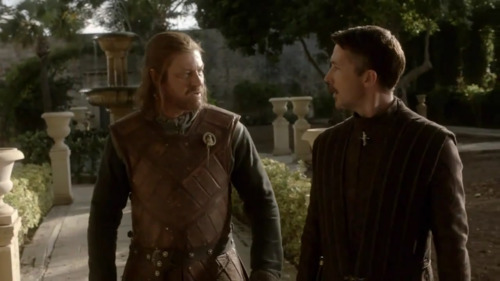 Ned & Littlefinger