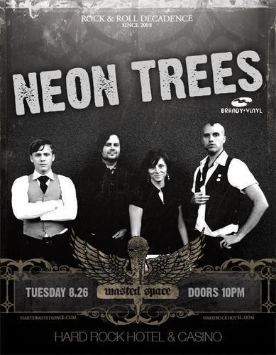Neon Trees flyers