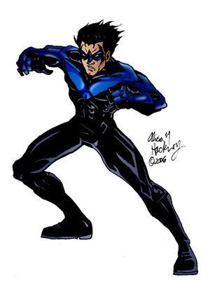 Nightwing Drawings