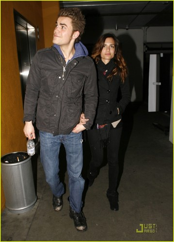 Paul Wesley & Torrey DeVitto: Movie Date!