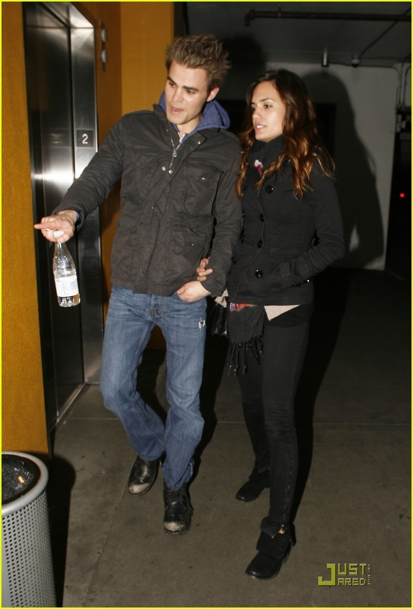 Paul Wesley & Torrey DeVitto: Movie Date! - The Vampire ...