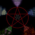 Pentagram - paganism photo