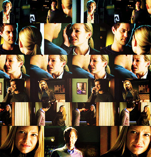Fringe wallpaper titled Peter & Olivia