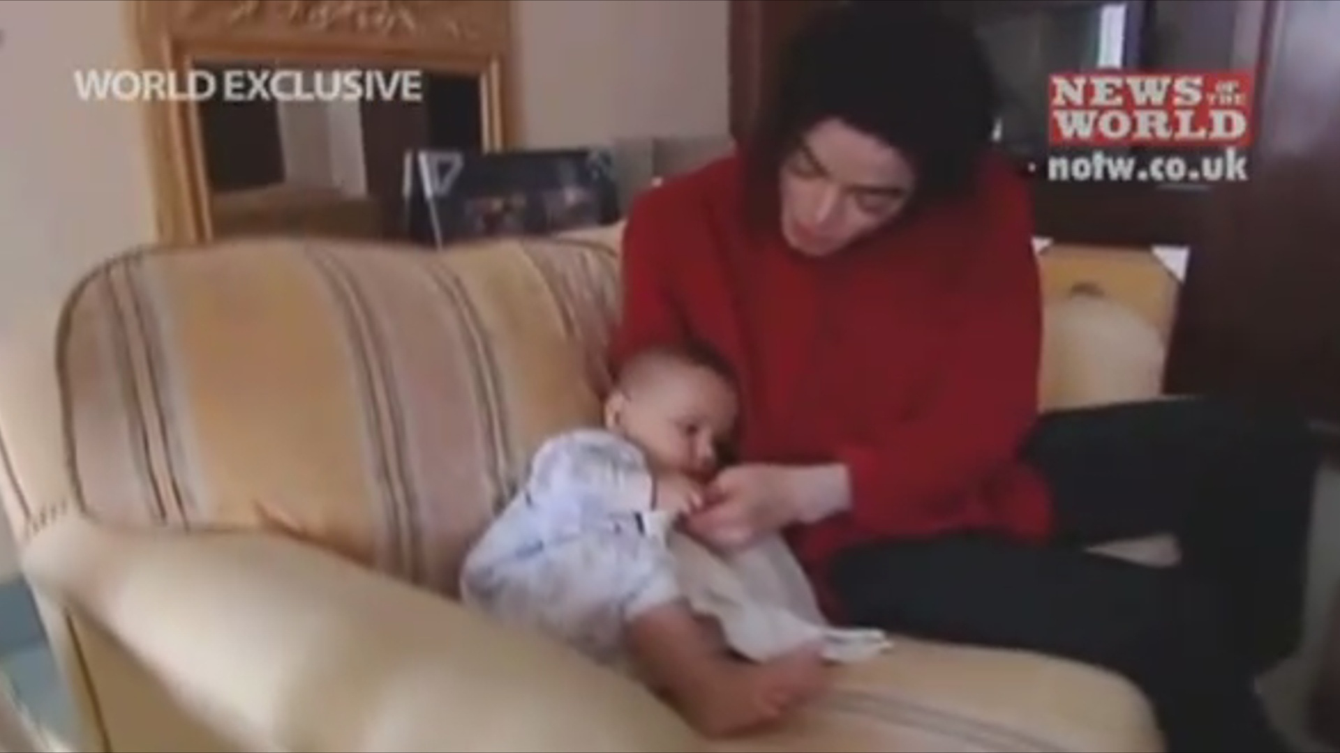 Prince puking as a baby - prince-michael-jackson