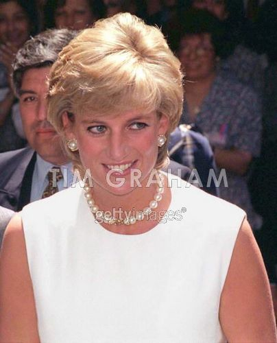 Princess Diana In Argentina