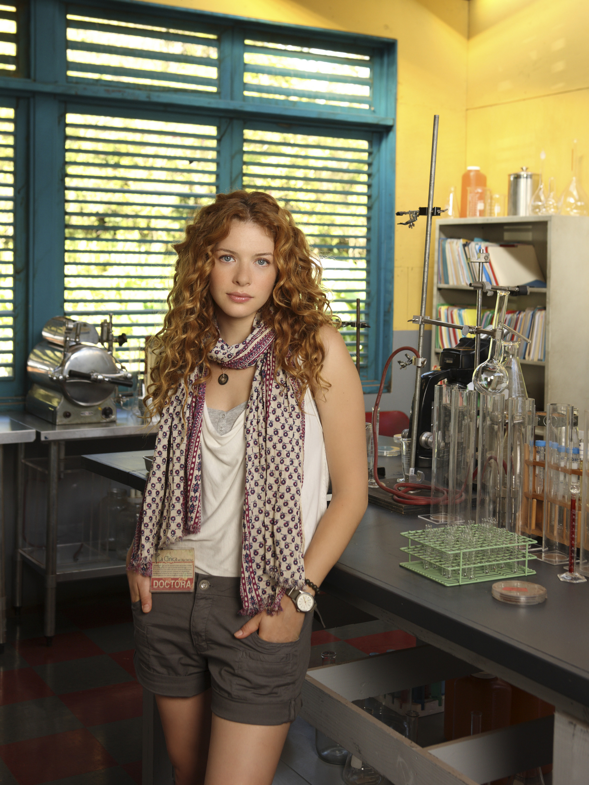 Rachelle Lefevre mostra Off the Map on ABC