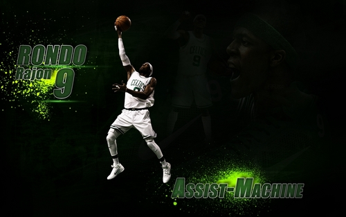 Rajon Rondo Hintergrund containing a gatter, wicket titled Rajon Rondo