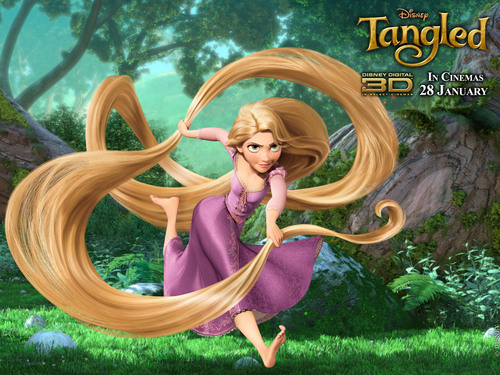 Rapunzel´s Wallpaper - tangled Wallpaper