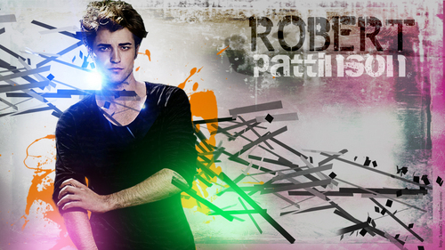 Robert Pattinson wallpaper containing a sign called Rob...