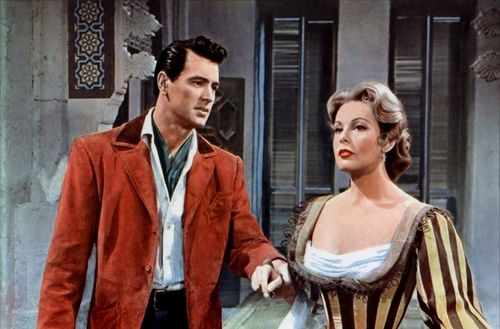 Classic Movies wallpaper possibly containing a business suit and a well dressed person called Rock Hudson