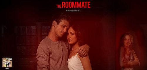 Leighton Meester fond d'écran probably containing a sign titled Roommate