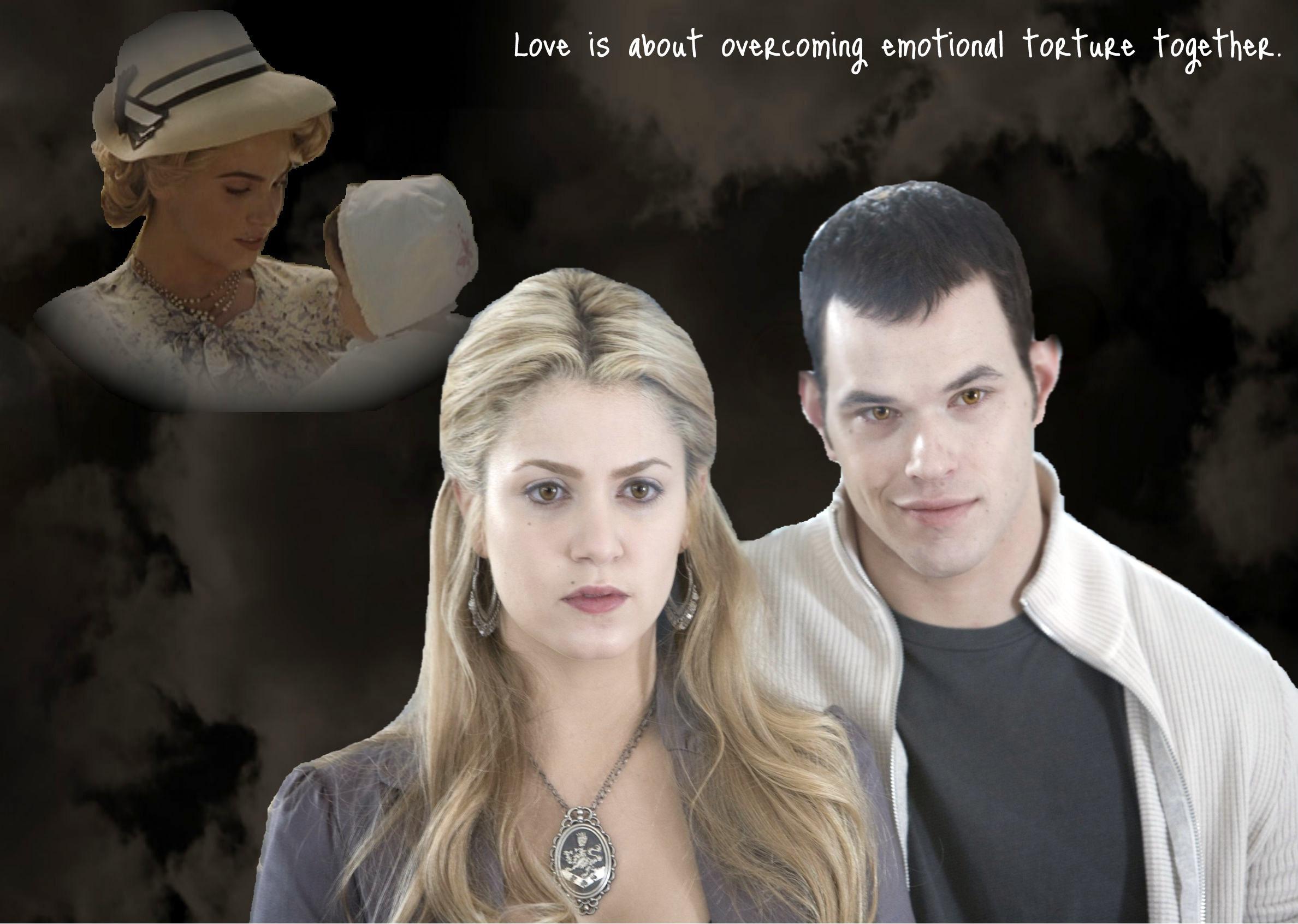Rosalie Cullen - Emmett & Rosalie Fan Art (17904543) - Fanpop  Rosalie Cullen ...
