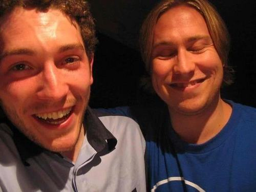Russell Howard and Jon Richardson