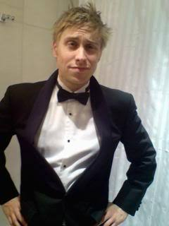 Russell in tux <3