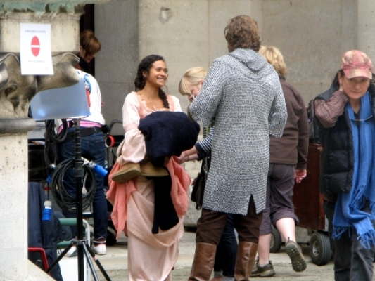 Angel coulby and rupert young