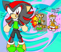 Shadow wearing Marine's clothes XD - shadow-the-hedgehog photo
