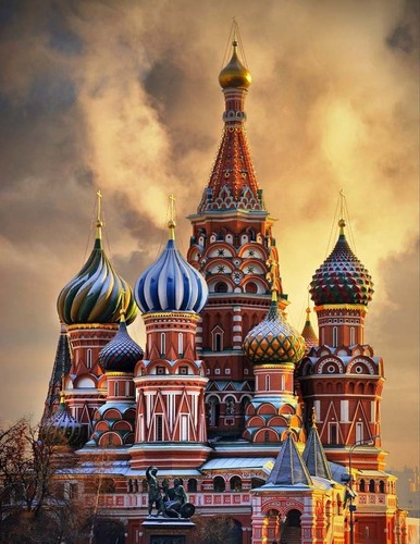 Russia Wallpaper With An Onion Dome Titled St. Basilu0027s Cathedral   Moscow