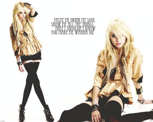 Taylor Momsen Hintergrund with a hip boot titled Taylor Momsen