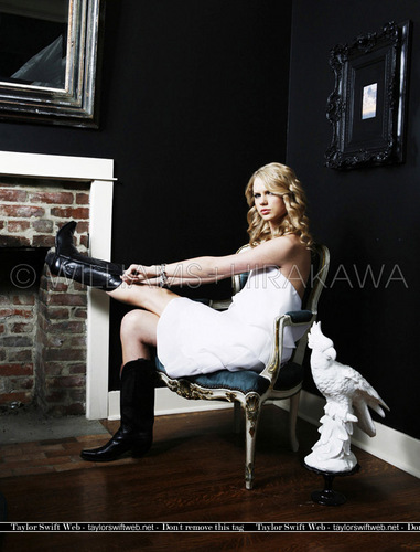 Taylor nhanh, swift - Photoshoot #058: Entertainment Weekly (2008)