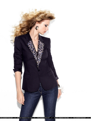 Taylor 迅速, スウィフト - Photoshoot #072: Glamour (2009)