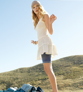 Taylor Swift - Photoshoot #076: 2009 Spring/Summer LEI Jeans campaign