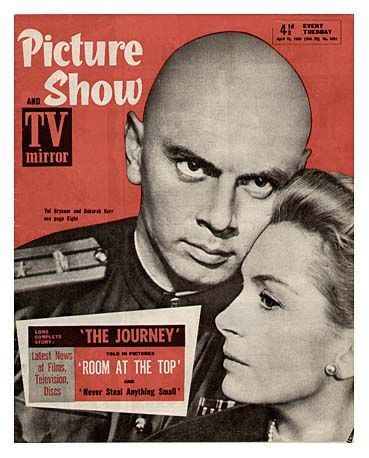 Yul Brynner wallpaper with anime and a newspaper entitled The Journey - Poster