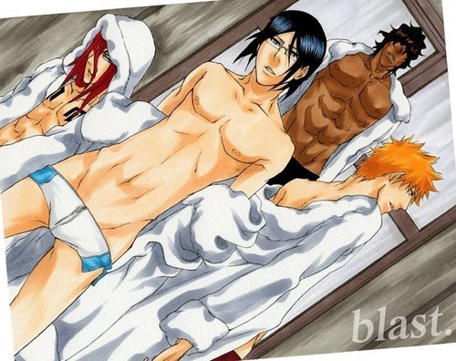 Bleach Anime images The Sexy Guys HD wallpaper and background photos