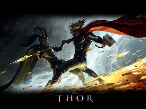 Thor - marvel-comics Wallpaper