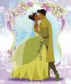 Tiana & Naveen's kiss