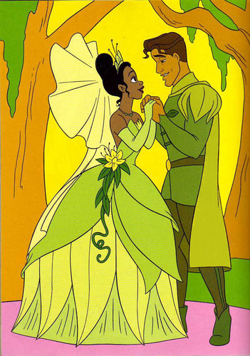 The Princess and the Frog wallpaper containing anime titled Tiana & Naveen