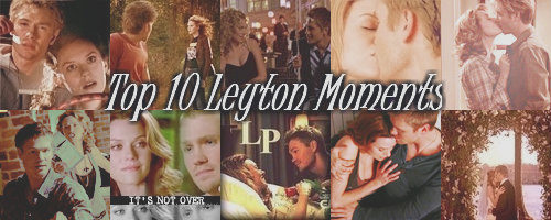 top, boven Ten Leyton Moments [Kaitie & Charley]