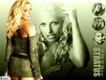 Trish In Green - trish-stratus wallpaper