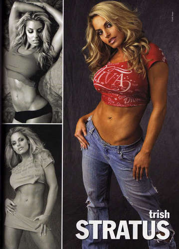 Trish in Jeans