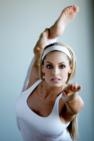 Trish in White