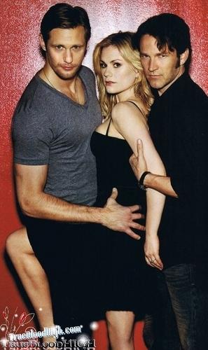 True Blood - Ben Watts photoshoot (outtakes)