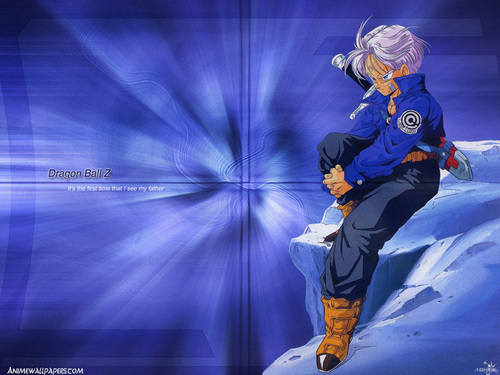 Trunks wallpaper probably with a gasmask entitled Trunks