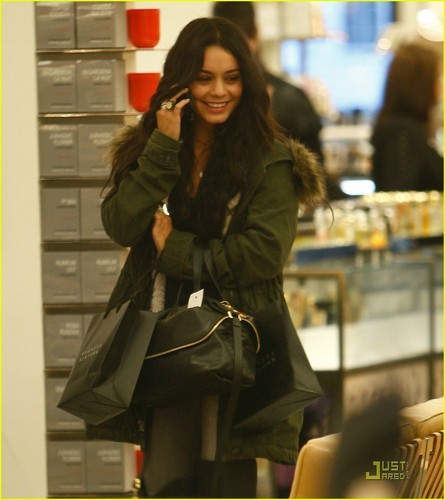 Vanessa out in Beverly Hills