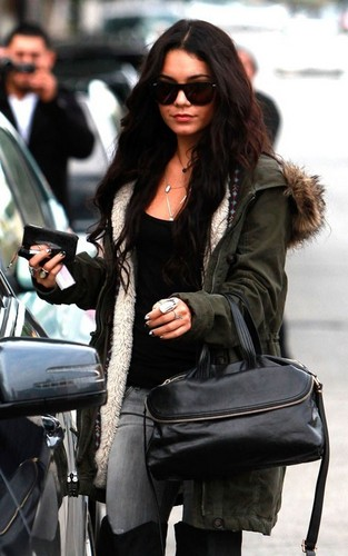 Vanessa out in Burbank