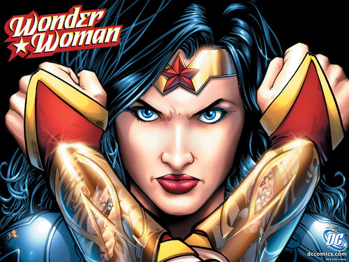 DC Comics wallpaper probably with anime called Wonder Woman